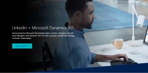 LinkedIn en Microsoft Dynamics Sales