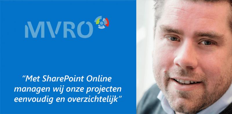 SharePoint Online biedt MVRO meer inzicht in projecten