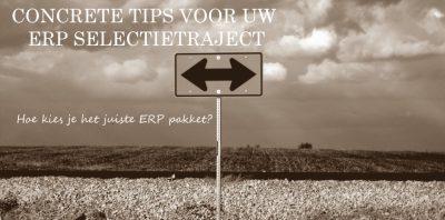 Concrete tips voor uw ERP selectietraject
