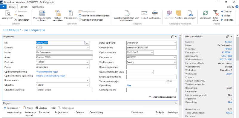 Herke BouwVision-Service-Werkbon