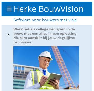 Flyer Herke BouwVision 2018