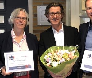 eerste prijs Rehorst Bouw B.V. SKB Award Oplevering Award